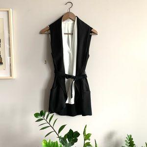 Wilfred Normandie black Jacket Vest